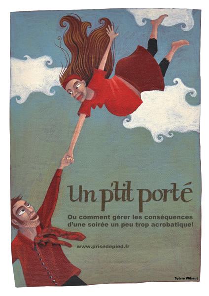 """Affiche """"Un P'tit Porté"""""""